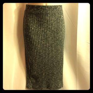 Cotton On- Grey Pencil Skirt